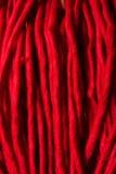Κόκκινο ακρυλικό ύφασμα Στοκ Εικόνες