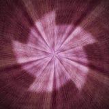 Κόκκινο ακτινωτό σπειροειδές αφηρημένο μέρος 2 σχεδίων αστεριών που αναστρέφεται Στοκ Εικόνες