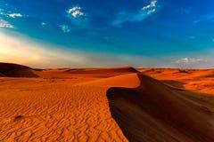 κόκκινο αμμόλοφων ερήμων στοκ εικόνα με δικαίωμα ελεύθερης χρήσης