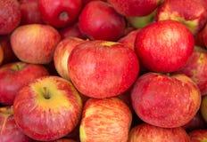 κόκκινο ανασκόπησης μήλων Στοκ εικόνα με δικαίωμα ελεύθερης χρήσης
