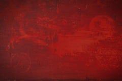 κόκκινο ανασκόπησης grunge Στοκ Εικόνα