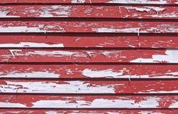 κόκκινο αποφλοίωσης χρω Στοκ εικόνα με δικαίωμα ελεύθερης χρήσης