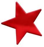 κόκκινο αστέρι Στοκ φωτογραφία με δικαίωμα ελεύθερης χρήσης