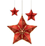 Κόκκινο αστέρι   Στοκ Φωτογραφία
