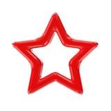 Κόκκινο αστέρι Απεικόνιση αποθεμάτων