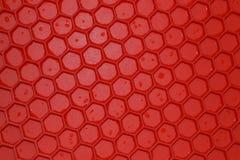 Κόκκινο λαστιχένιο χαλί Στοκ Φωτογραφία