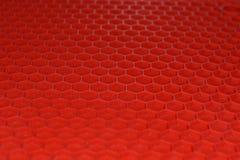 Κόκκινο λαστιχένιο χαλί Στοκ εικόνα με δικαίωμα ελεύθερης χρήσης