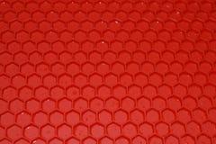 Κόκκινο λαστιχένιο χαλί Στοκ φωτογραφία με δικαίωμα ελεύθερης χρήσης