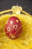κόκκινο αυγών Πάσχας Στοκ Φωτογραφία
