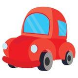 Κόκκινο αυτοκίνητο διανυσματική απεικόνιση