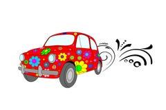 κόκκινο αυτοκινήτων απεικόνιση αποθεμάτων