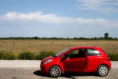 κόκκινο αυτοκινήτων Στοκ Φωτογραφία