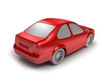 κόκκινο αυτοκινήτων Στοκ Φωτογραφίες