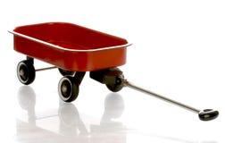 κόκκινο βαγόνι εμπορευμά&t Στοκ φωτογραφίες με δικαίωμα ελεύθερης χρήσης