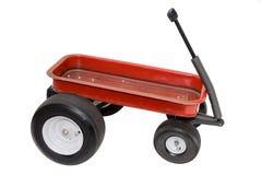 κόκκινο βαγόνι εμπορευμά&t Στοκ Εικόνα