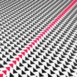 κόκκινο βελών Στοκ Εικόνα