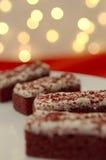 κόκκινο βελούδο κέικ Στοκ εικόνα με δικαίωμα ελεύθερης χρήσης