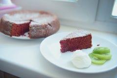 κόκκινο βελούδο Στοκ Φωτογραφία