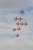 κόκκινο βελών Στοκ εικόνες με δικαίωμα ελεύθερης χρήσης