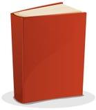 Κόκκινο βιβλίο στο λευκό Στοκ Εικόνα