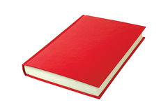 κόκκινο βιβλίων Στοκ Εικόνες