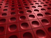 Κόκκινο βιομηχανικό μεταλλικό λαμπρό υπόβαθρο απεικόνιση αποθεμάτων