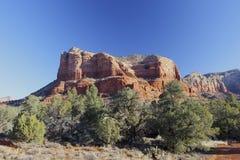 Κόκκινο βουνό βράχου, Sedona Αριζόνα στοκ φωτογραφία με δικαίωμα ελεύθερης χρήσης