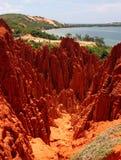 κόκκινο βουνών Στοκ εικόνες με δικαίωμα ελεύθερης χρήσης