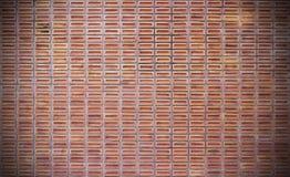 Κόκκινο βρώμικο υπόβαθρο τουβλότοιχος Στοκ Φωτογραφίες
