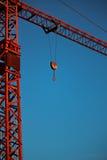 κόκκινο γερανών Στοκ εικόνα με δικαίωμα ελεύθερης χρήσης