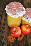 κόκκινο γλυκό μήλων Στοκ εικόνες με δικαίωμα ελεύθερης χρήσης