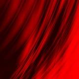 κόκκινο γραμμών που λειαίνεται Στοκ φωτογραφία με δικαίωμα ελεύθερης χρήσης