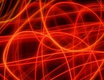 κόκκινο γραμμών Στοκ φωτογραφία με δικαίωμα ελεύθερης χρήσης