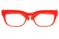 κόκκινο γυαλιών Στοκ Φωτογραφίες