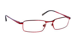 κόκκινο γυαλιών Στοκ Εικόνα