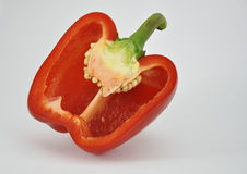 κόκκινο γλυκό πιπεριών Στοκ εικόνες με δικαίωμα ελεύθερης χρήσης