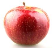 Κόκκινο δάγκωμα μήλων Στοκ Φωτογραφία