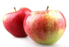 Κόκκινο δάγκωμα μήλων Στοκ εικόνες με δικαίωμα ελεύθερης χρήσης