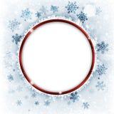 Κόκκινο δαχτυλίδι Χριστουγέννων απεικόνιση αποθεμάτων
