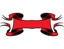 κόκκινο διάνυσμα εμβλημάτ ελεύθερη απεικόνιση δικαιώματος