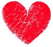 κόκκινο διάνυσμα καρδιών ελεύθερη απεικόνιση δικαιώματος