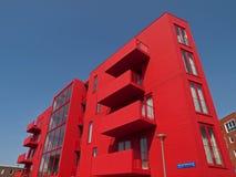 κόκκινο διαμερισμάτων Στοκ εικόνα με δικαίωμα ελεύθερης χρήσης