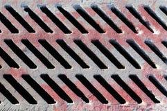 κόκκινο δικτυωτού πλέγματος Στοκ Φωτογραφίες