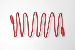 κόκκινο δικτύων υπολογ&iot Στοκ Εικόνα