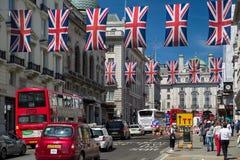 Κόκκινο διπλό κατάστρωμα στο Λονδίνο στοκ φωτογραφία με δικαίωμα ελεύθερης χρήσης