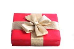 κόκκινο δώρων κιβωτίων Στοκ Φωτογραφίες