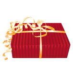 κόκκινο δώρων απεικόνιση αποθεμάτων