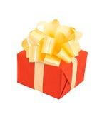 κόκκινο δώρων Στοκ φωτογραφία με δικαίωμα ελεύθερης χρήσης