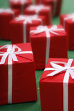 κόκκινο δώρων Στοκ Εικόνες