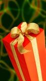 κόκκινο δώρων Στοκ Φωτογραφίες